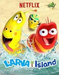 دانلود انیمیشن دوبله فارسی The Larva Island Movie 2020