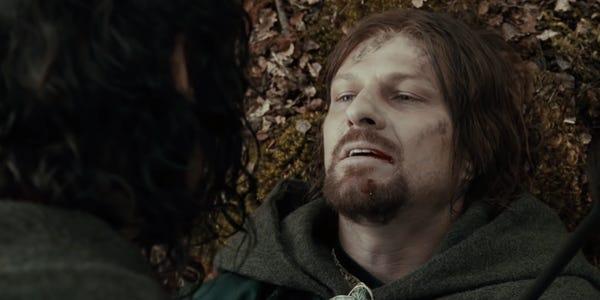 سکانس مرگ بورومیر