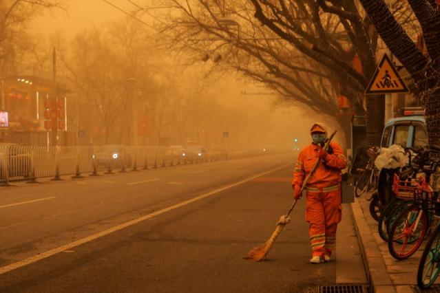 طوفان شن در پکن