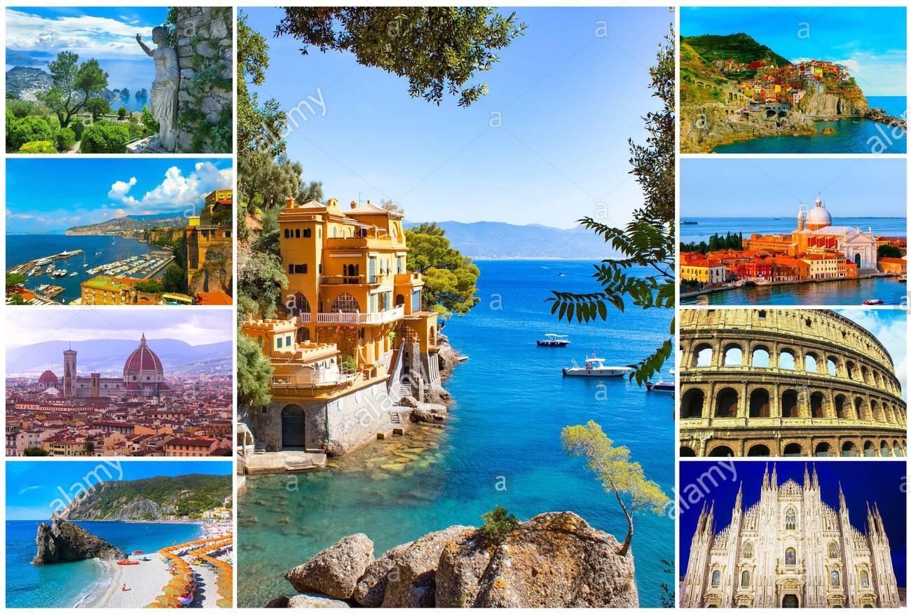 10 مکان دیدنی و گردشگری مشهور در ایتالیا
