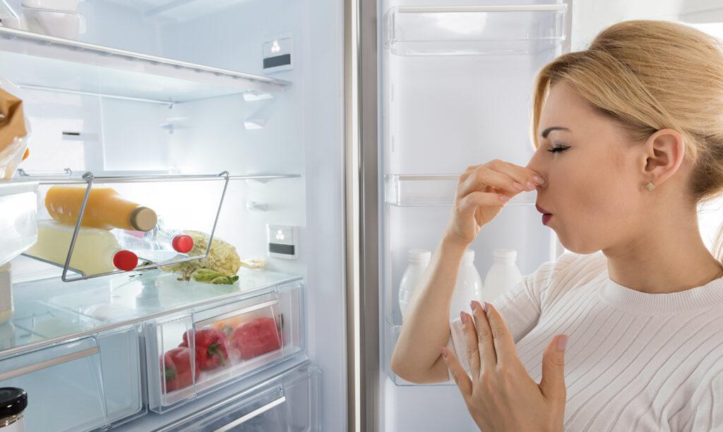9 ترفند برای رفع هر بوی بدی از یخچال فریزر